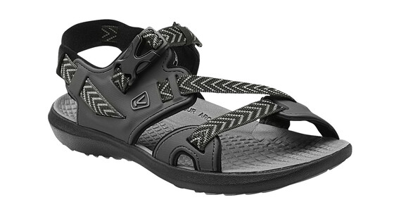Keen Maupin Sandals Men raven/gargoyle